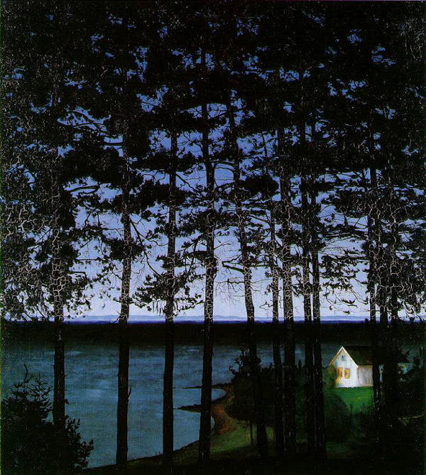 Harald Sohlberg, Fisherman's Cottage - The Culturium