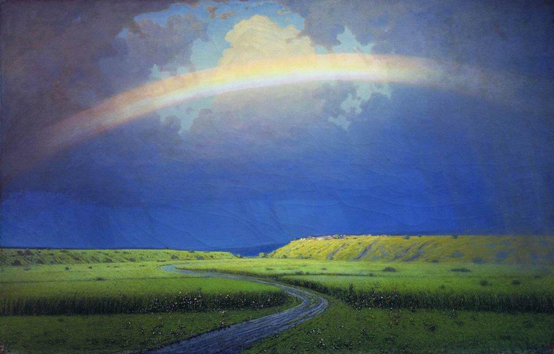 Arkhip Kuindzhi, Rainbow - The Culturium