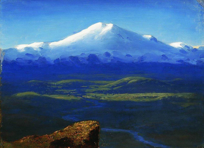 Arkhip Kuindzhi, Snow - The Culturium