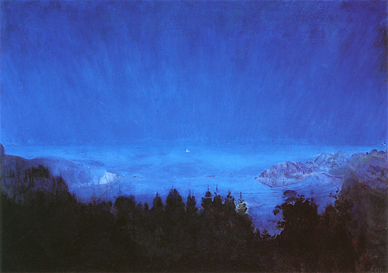 Harald Sohlberg, Midsummernight - The Culturium