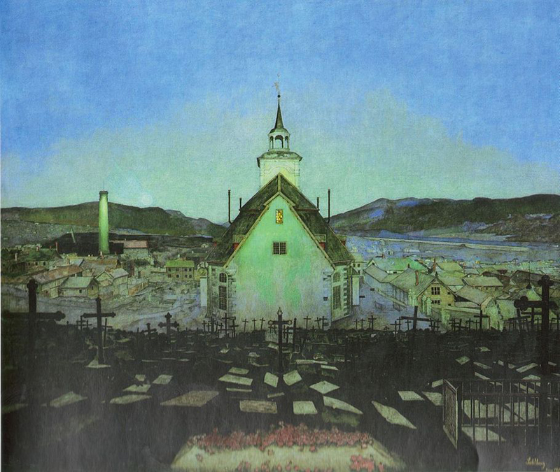 Harald Sohlberg, Night - The Culturium
