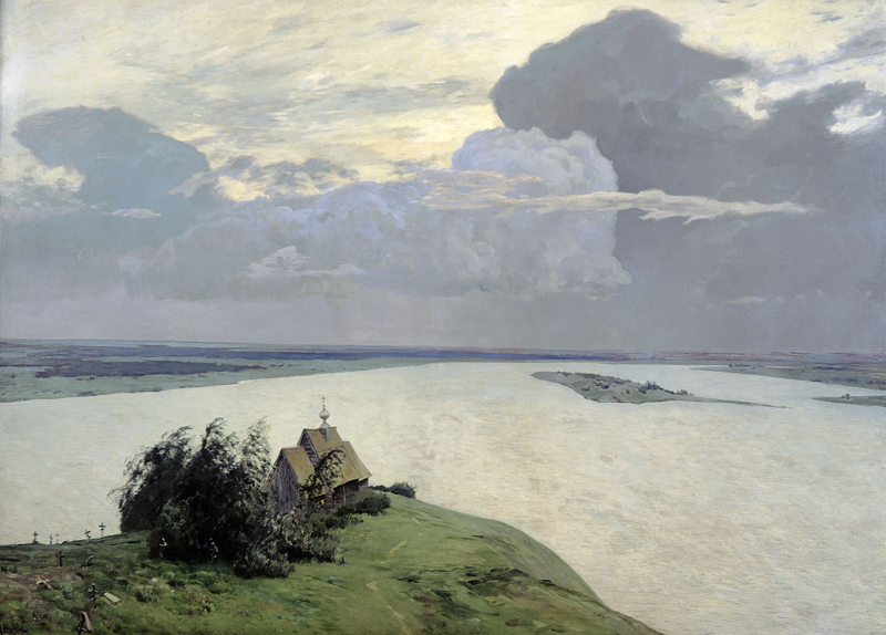 Isaac Levitan, Above the Eternal Peace - The Culturium
