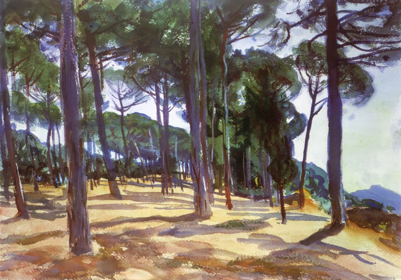 John Singer Sargent, At Frascati - The Culturium