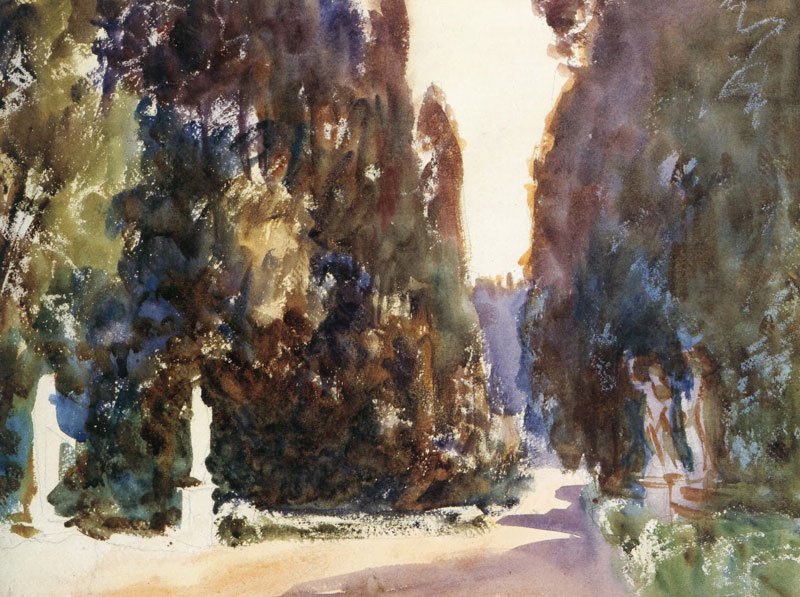 John Singer Sargent, Boboli Gardens, Florence- The Culturium