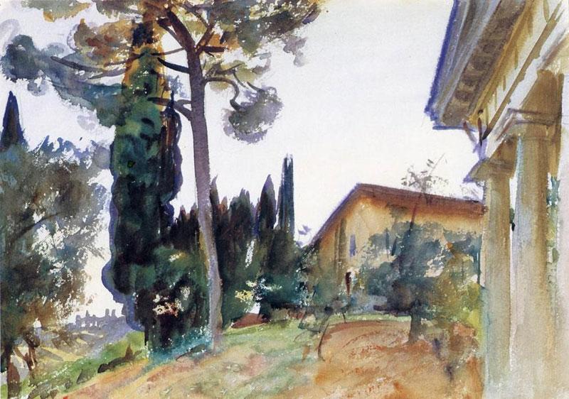 John Singer Sargent, Corfu - The Culturium