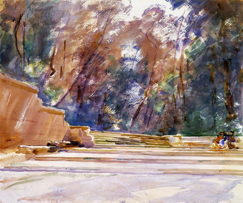John Singer Sargent, Park Scene - The Culturium