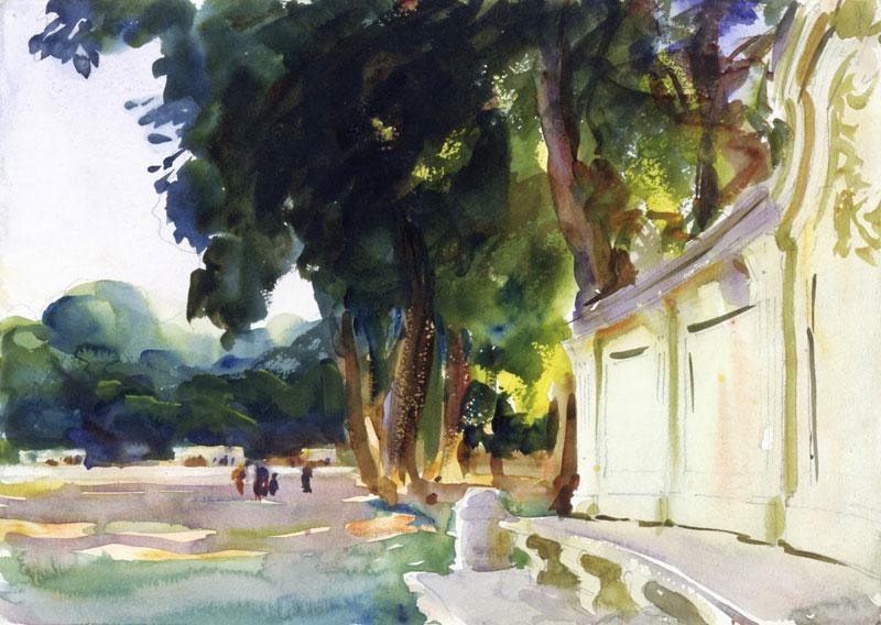 John Singer Sargent, Spanish Midday, Aranjuez - The Culturium