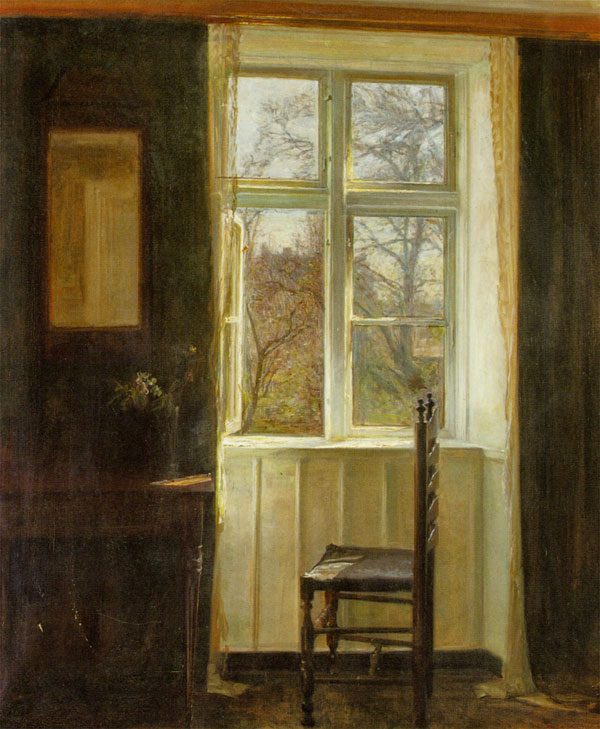 Carl Vilhelm Holsøe, Open Window - The Culturium
