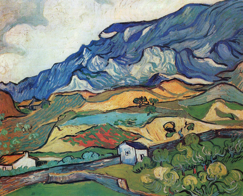 Vincent van Gogh, Les Alpilles, Mountain Landscape Near Saint-Rémy - The Culturium