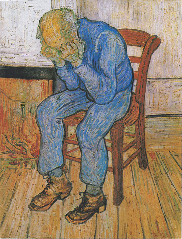 Vincent van Gogh, Old Man in Sorrow (On the Threshold of Eternity) - The Culturium