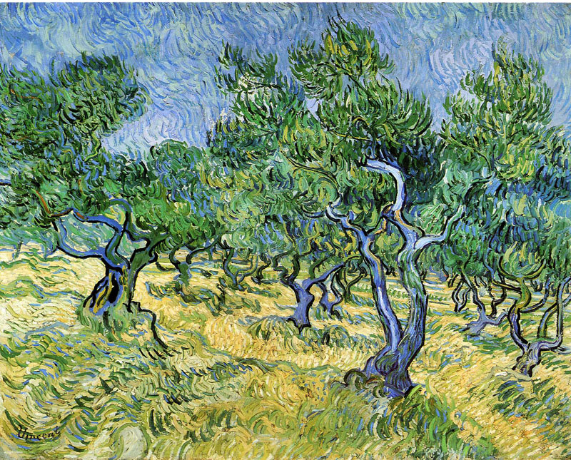 Vincent van Gogh, Olive Grove - The Culturium
