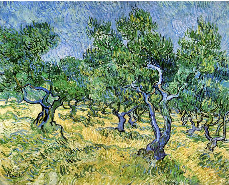 Vincent van Gogh, Olive Grove - The Culturium