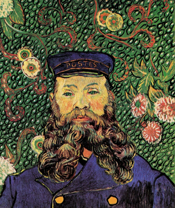 Vincent van Gogh, Portrait of the Postman, Joseph Roulin - The Culturium