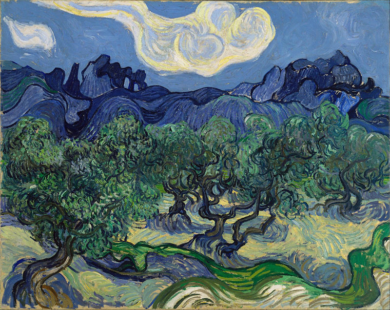 Vincent van Gogh, The Olive Trees - The Culturium
