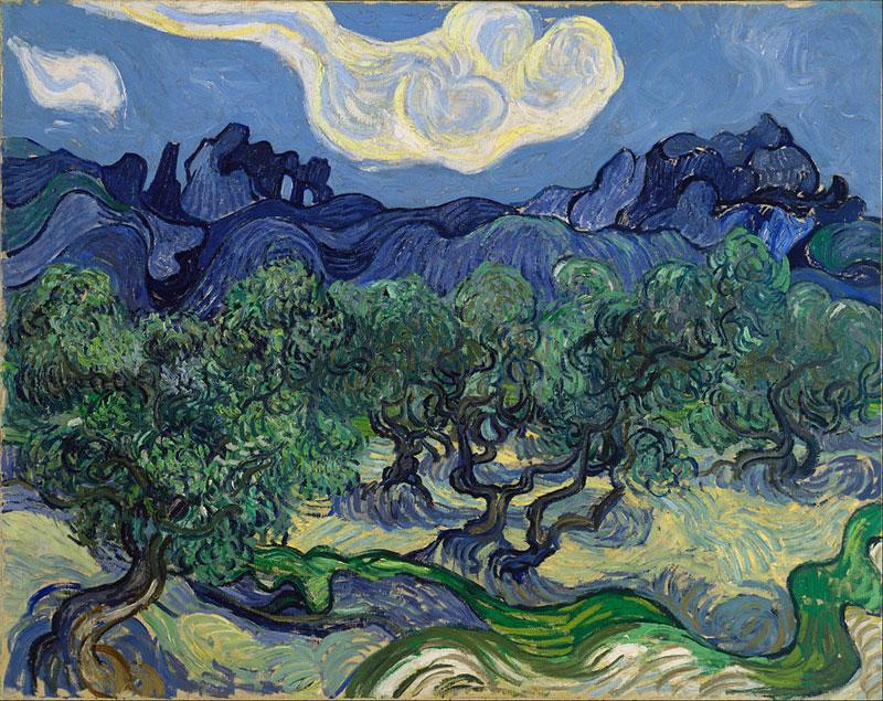 Vincent van Gogh, The Olive Trees - The Culturium