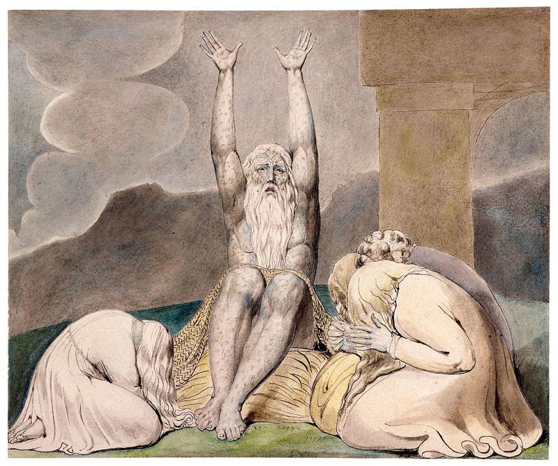 William Blake, The Book of Job - The Culturium