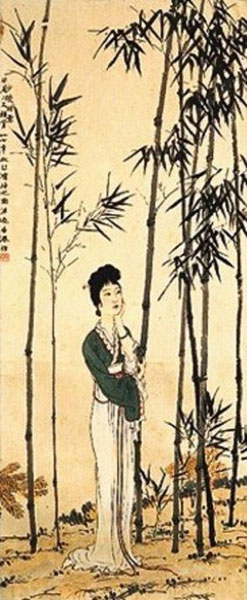 Xu Beihong, A Beauty in a Tang Poem - The Culturium