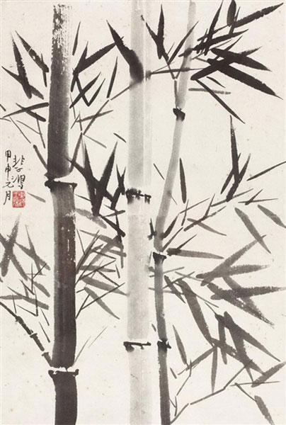 Xu Beihong, Bamboo - The Culturium