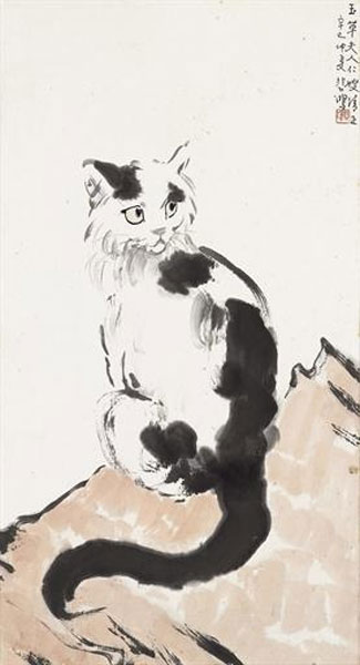 Xu Beihong, Cat - The Culturium