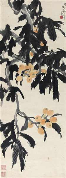 Xu Beihong, Cicadas and Bamboo - The Culturium