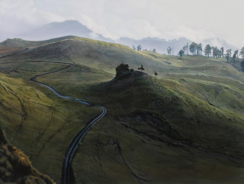 Guy Laramée, Coline vue d'une coline - The Culturium