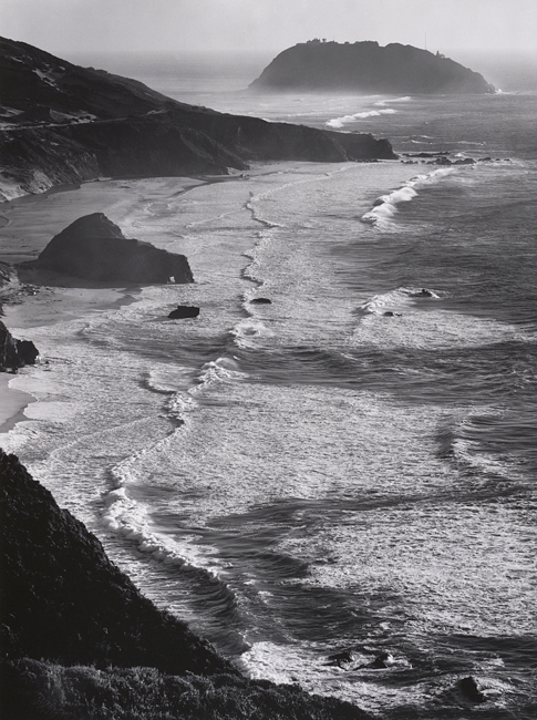 Ansel Adams, Point Sur, Storm, Monterey Coast, California, ca. 1950