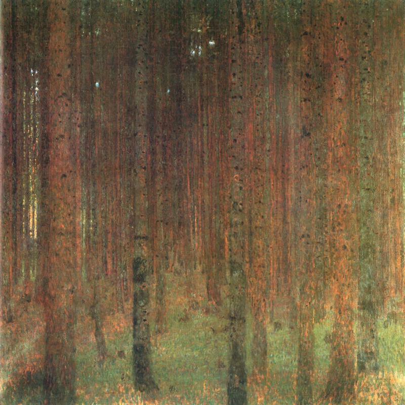 Gustav Klimt, Pine Forest II - The Culturium