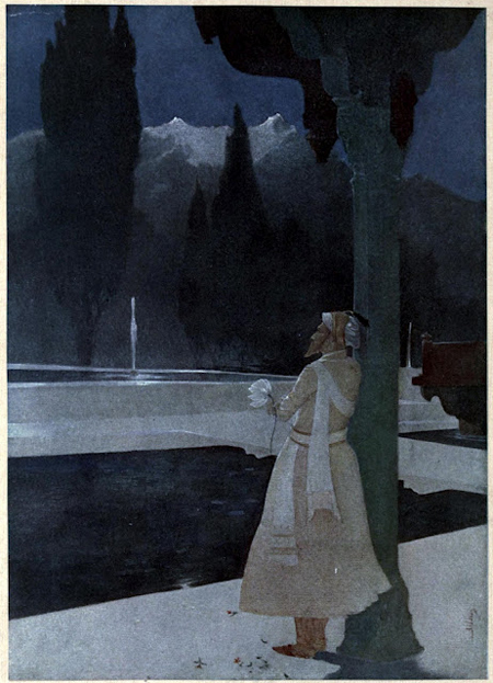 Abanindranath Tagore, Night at the Shalimar the Emperor Shah Jahan - The Culturium