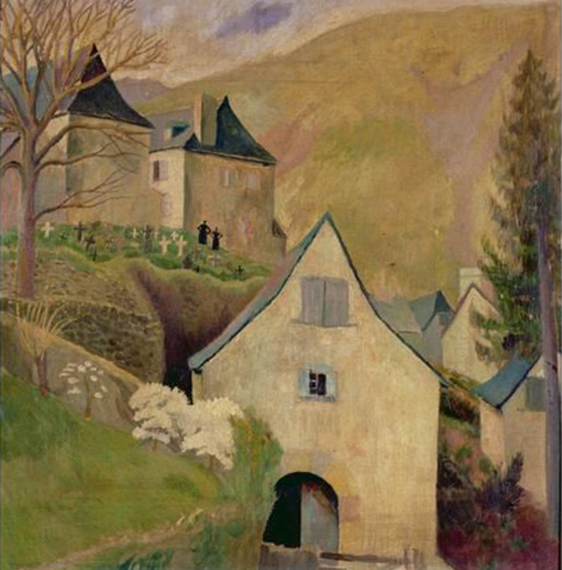 Dora Carrington, Mountain Church, Larrau - The Culturium