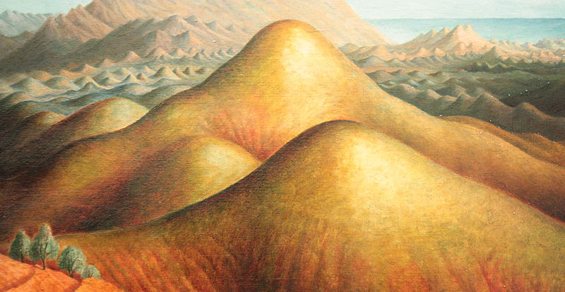 Dora Carrington, Spanish Landscape With Mountains - The Culturium