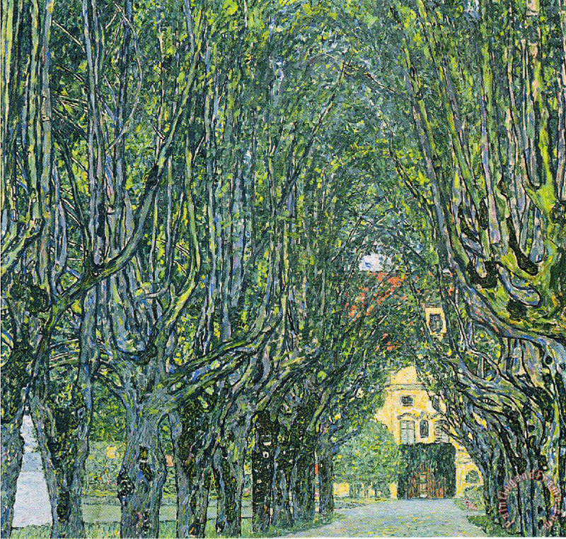 Gustav Klimt, Avenue of Schloss Kammer Park - The Culturium