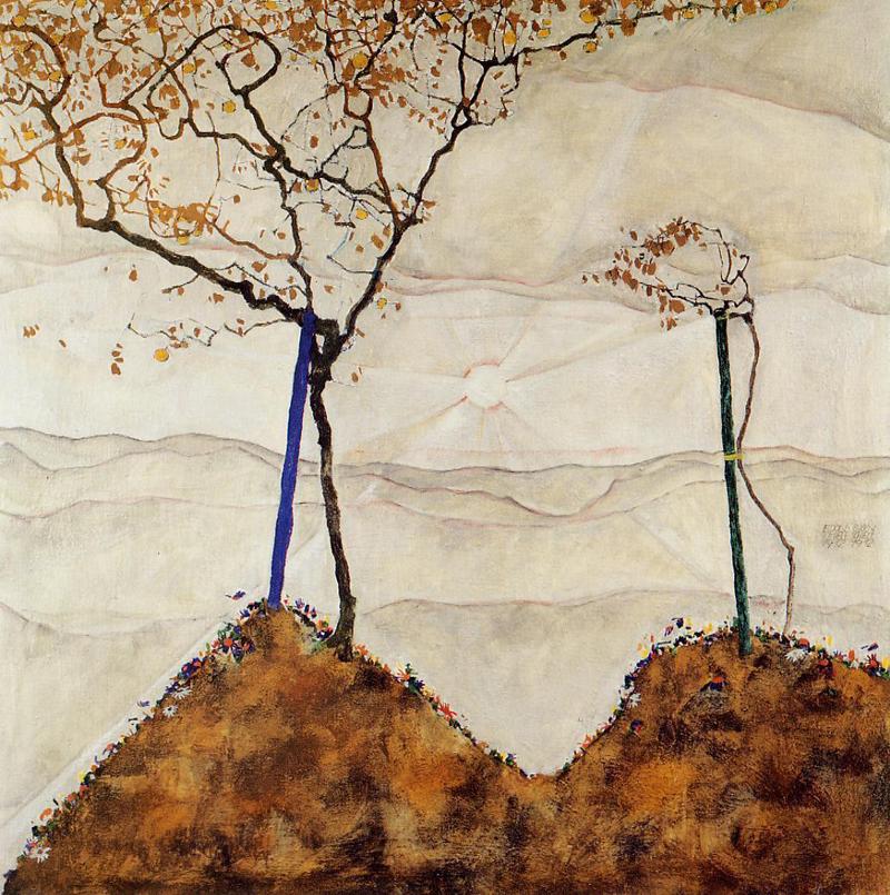 Egon Schiele, Autumn Sun - The Culturium