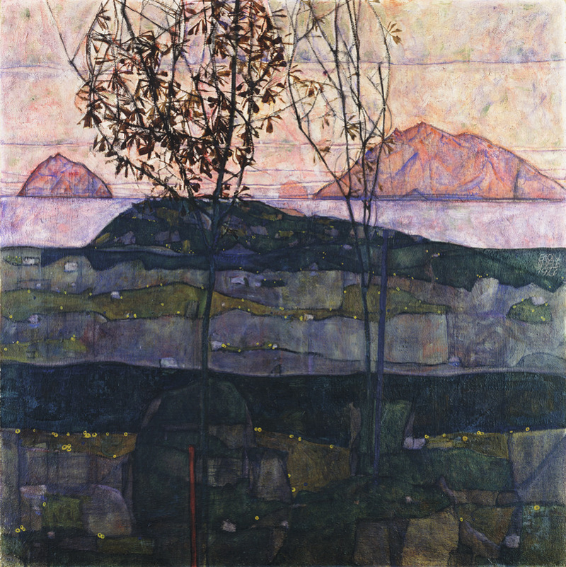 Egon Schiele, Setting Sun - The Culturium