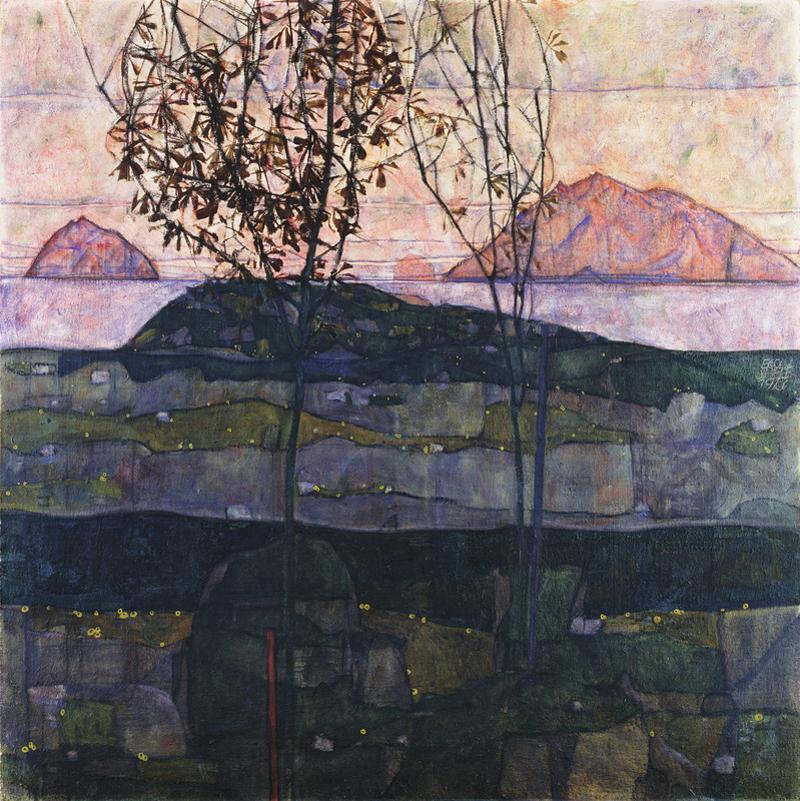 Egon Schiele, Setting Sun - The Culturium