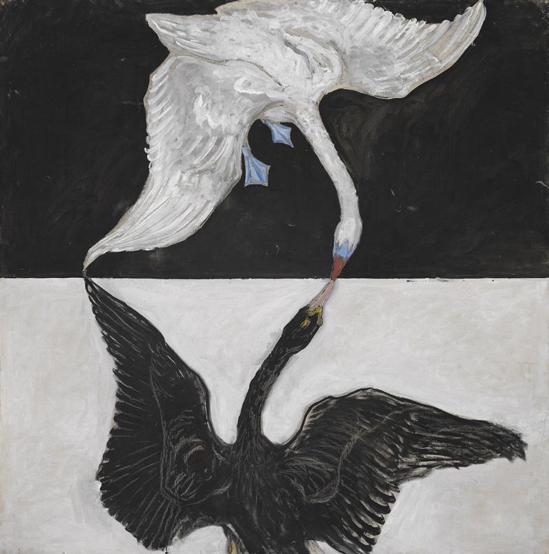 Hilma af Klint, Swan - The Culturium