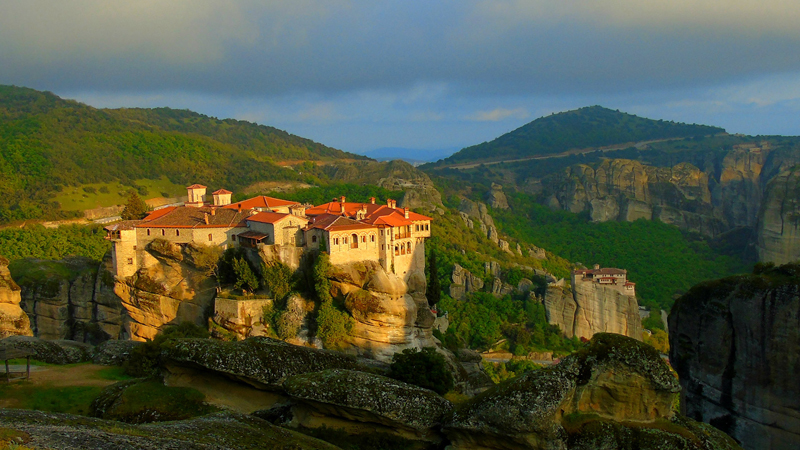 Paula Marvelly: The Monasteries of Meteora