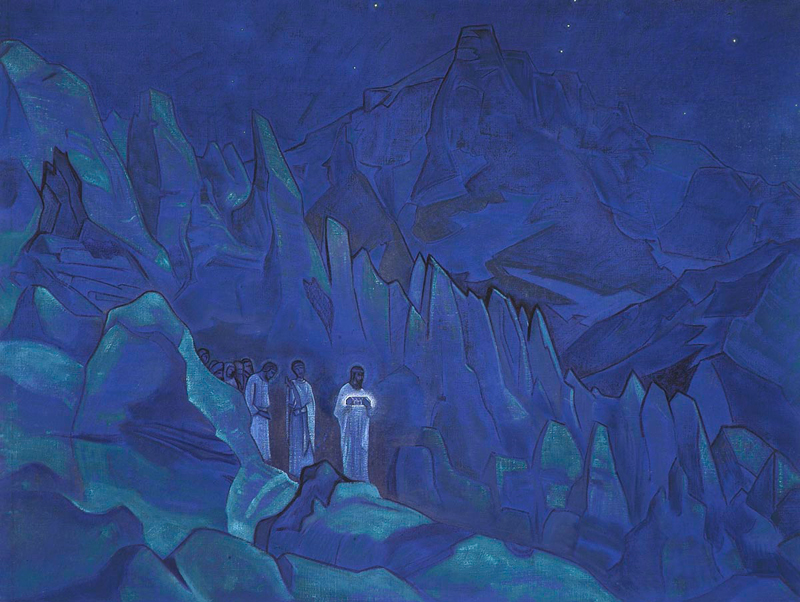 Nicholas Roerich, Burning of Darkness - The Culturium