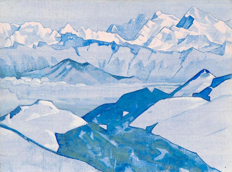 Nicholas Roerich, Everest Range - The Culturium