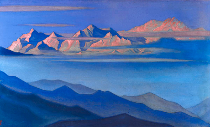 Nicholas Roerich, Kanchenjunga - The Culturium