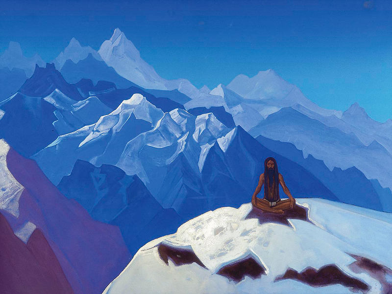 Nicholas Roerich, On The Heights - The Culturium