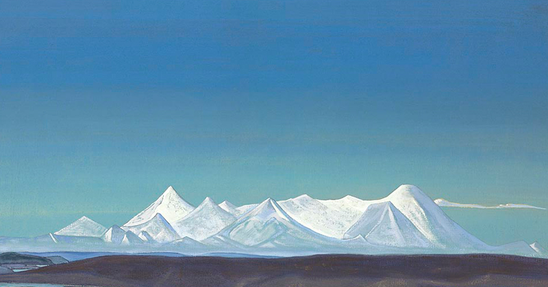 Nicholas Roerich, The Greatest and Holiest of Tangla - The Culturium
