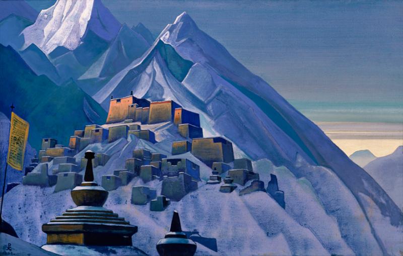 Nicholas Roerich, Tibet, Himalayas - The Culturium