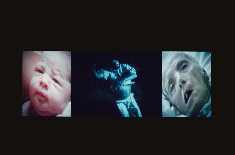 Bill Viola, Nantes Triptych, 1992 - The Culturium