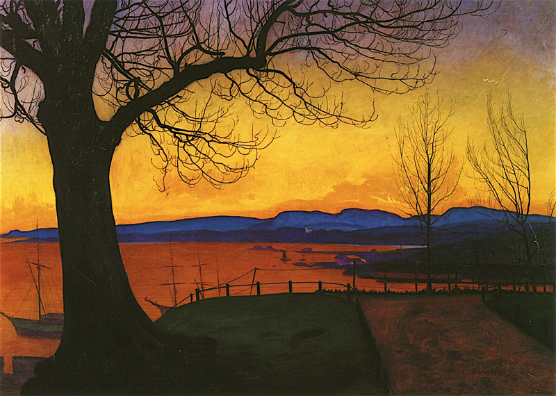 Harald Oskar Sohlberg, Evening Akershus - The Culturium