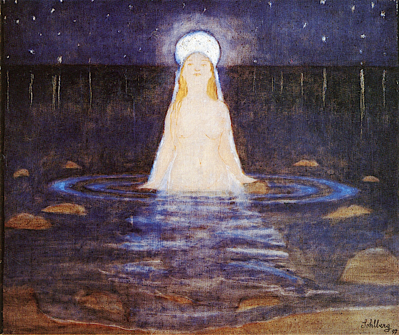 Harald Oskar Sohlberg, Mermaid - The Culturium