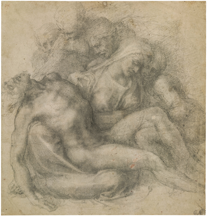 Michelangelo Buonarroti, The Lamentation over the Dead Christ, c. 1540 - The Culturium