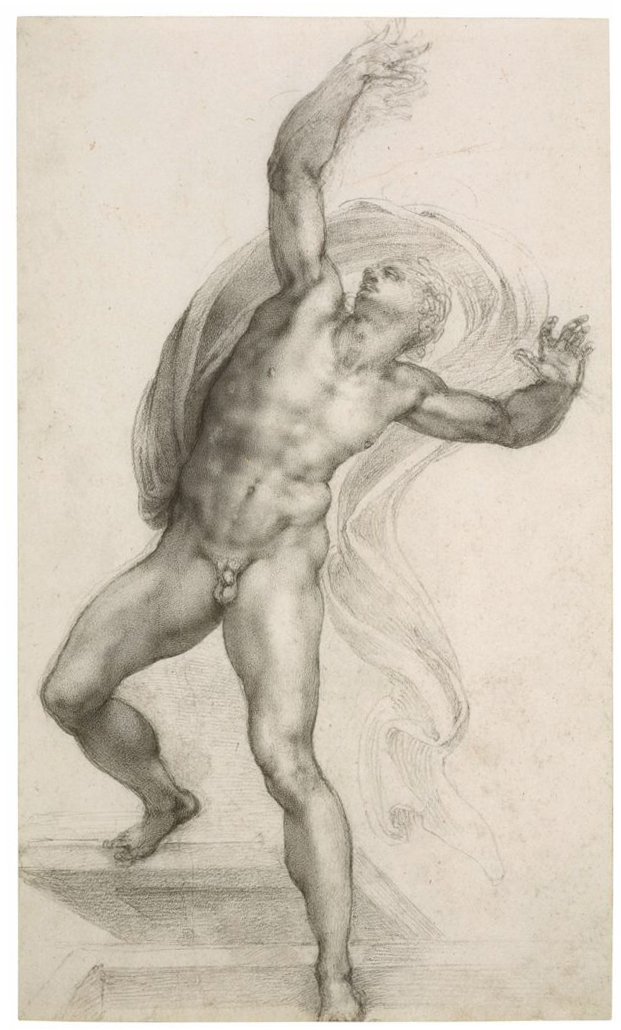 Michelangelo Buonarroti, The Risen Christ, c. 1532-3