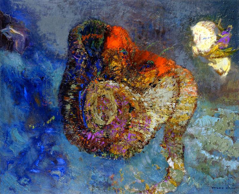 Odilon Redon, Andromeda - The Culturium