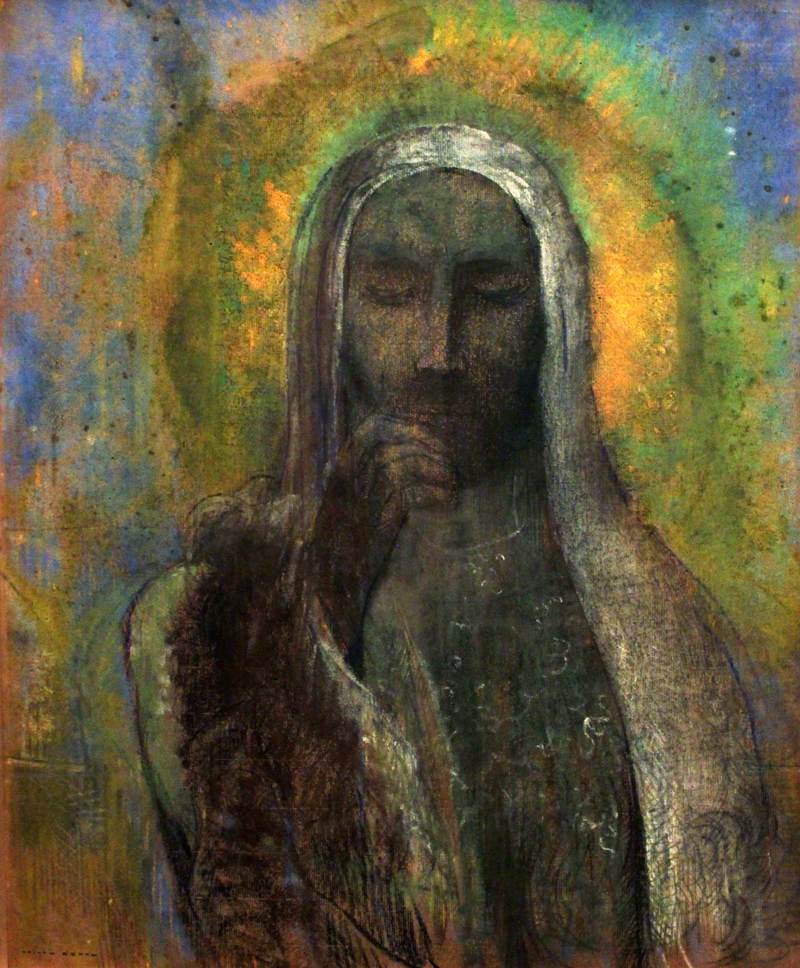 Odilon Redon, Christ - The Culturium