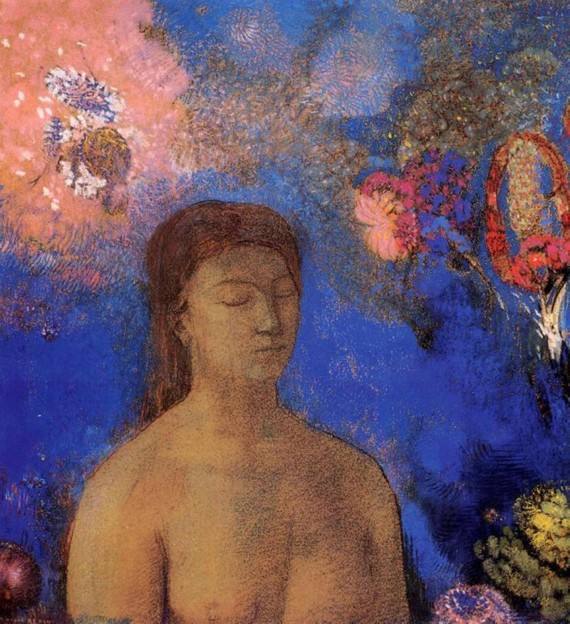 Odilon Redon, Closed Eyes - The Culturium